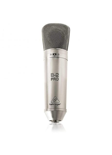 Behringer B-2 PRO Professional Gold-Sputtered Large Dual-Diaphragm Studio Condenser Microphone