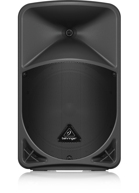 """Behringer B12X 1000 Watt 2 Way 12"""" Powered Loudspeaker with Digital Mixer, Wireless Option, Remote Control via iOS*/Android* Mobile App and Bluetooth Audio Streaming"""