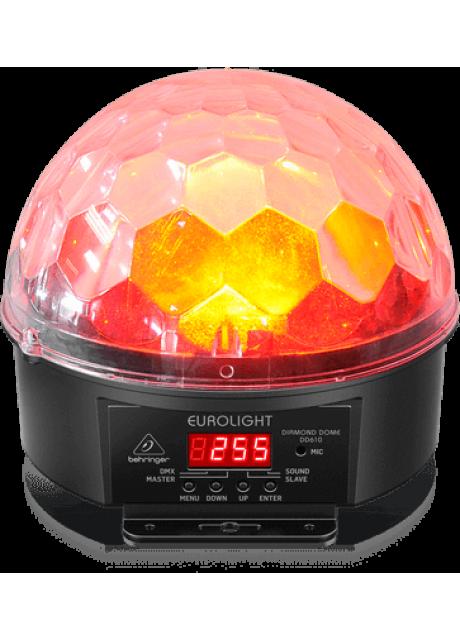 Behringer DD610 Multimode RGBWA LED Mirror-Ball Lighting Effect