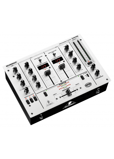Behringer DJX400 Professional 2 Channel DJ Mixer with BPM Counter and VCA-Control