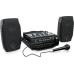 Behringer PPA200 Ultra-Compact 200 Watt 5 Channel Powered Mixer with Wireless Microphone Option, Klark Teknik Multi-FX Processor and FBQ Feedback Detection