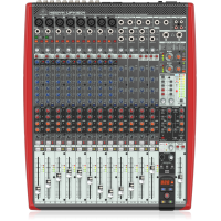 Behringer UFX1604 Premium 16-Input 4-Bus Mixer with 16x4 USB/FireWire Interface, 16-Track USB Recorder, XENYX Mic Preamps and Compressors, British EQ and Dual Multi-FX Processors