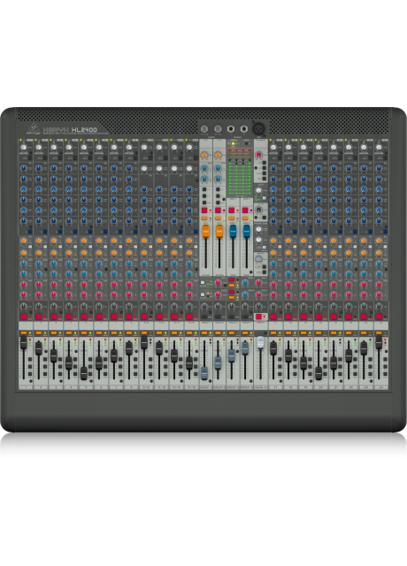 Behringer XL2400 Premium 24-Input 4-Bus Live Mixer with XENYX Mic Preamps and British EQ