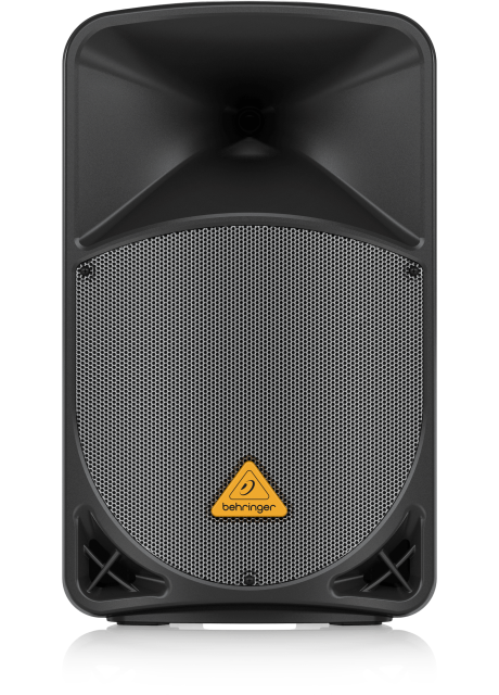 """Behringer B112MP3 Active 2-Way 12"""" PA Speaker System with MP3 Player, Wireless Option and Integrated Mixer"""