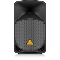 """Behringer B112W Active 2-Way 12"""" PA Speaker System with Bluetooth Wireless Technology, Wireless Microphone Option and Integrated Mixer"""