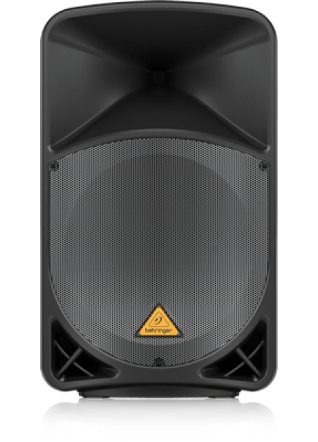 """Behringer B115MP3 Active 2-Way 15"""" PA Speaker System with MP3 Player, Wireless Option and Integrated Mixer"""