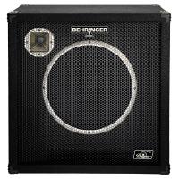 Behringer BB115 High-Performance 600 Watt Bass Cabinet with an Original 15'' Bugera Speaker and 1'' Horn Driver