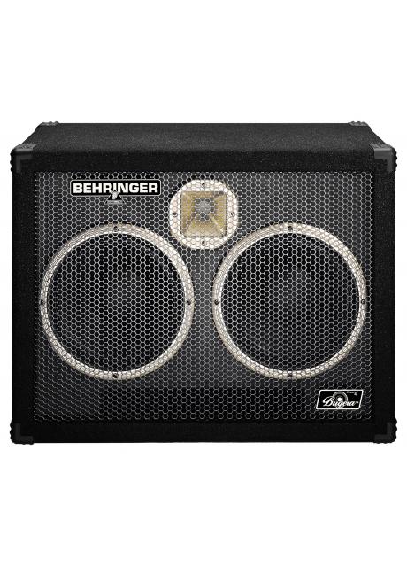 Behringer BB210 High-Performance 600 Watt Bass Cabinet with Original 2 x 10   Bugera Speakers and 1   Horn Driver