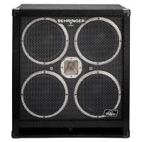 Behringer BB410 High-Performance 1200 Watt Bass Cabinet with Original 4 x 10'' Bugera Speakers and 1'' Horn Driver