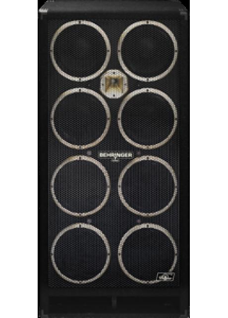 Behringer BB810 High-Performance 2400 Watt Bass Cabinet with Original 8 x 10   Bugera Speakers and 1   Horn Driver
