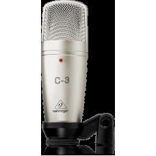 Behringer C-3 Dual-Diaphragm Studio Condenser Microphone