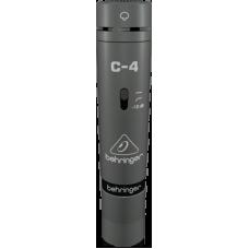 Behringer C-4  2 Matched Studio Condenser Microphones
