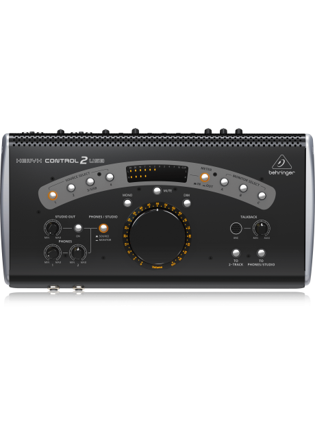 Behringer CONTROL 2USB High-End Studio Control and Communication Center with VCA Control and USB Audio Interface