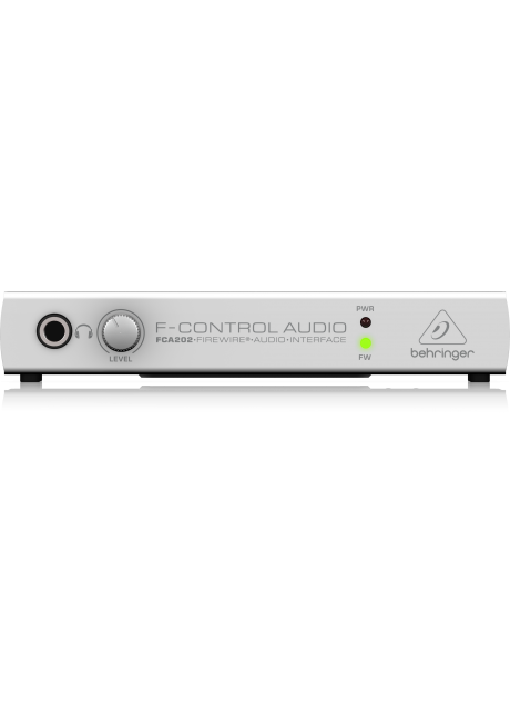 Behringer FCA202 Audiophile 2 In/2 Out 24-Bit/96 kHz FireWire Audio Interface