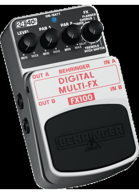 Behringer FX100 Digital Stereo Multi-Effects Pedal