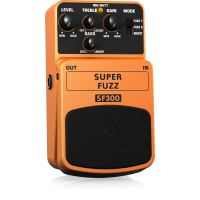 Behringer SF300 3-Mode Fuzz Distortion Effects Pedal