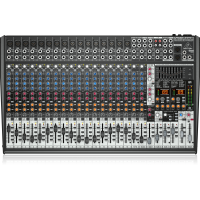 Behringer SX2442FX Ultra-Low Noise Design 24-Input 4-Bus Studio/Live Mixer with XENYX Mic Preamplifiers, British EQ and Dual Multi-FX Processor