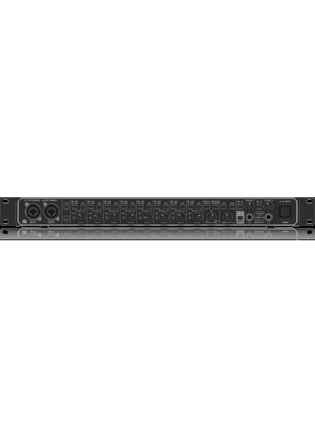 Behringer UMC1820 Audiophile 18x20, 24-Bit/96 kHz USB Audio/MIDI Interface with Midas Mic Preamplifiers