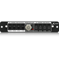 Behringer X-ADAT High-Performance 32 Channel ADAT/Wordclock Expansion Card for X32