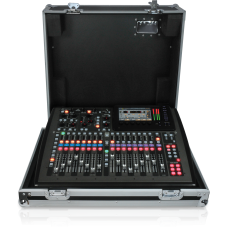 Behringer X32 COMPAC TP 40-Input, 25-Bus Digital Mixing Console with 16 Programmable Midas Preamps, 17 Motorized Faders, Channel LCD's, 32 Channel Audio Interface and Touring-Grade Road Case