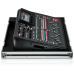 Behringer X32 COMPAC TP 40-Input, 25-Bus Digital Mixing Console with 16 Programmable Midas Preamps, 17 Motorized Faders, Channel LCD s, 32 Channel Audio Interface and Touring-Grade Road Case