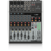 Behringer Xenyx 1204USB Premium 12-Input 2/2-Bus Mixer with XENYX Mic Preamps and Compressors, British EQ and USB/Audio Interface