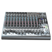 Behringer XENYX 2222FX Premium 22-Input 2/2-Bus Mixer with XENYX Mic Preamps, British EQ, 24-Bit Multi-FX Processor and USB/Audio Interface