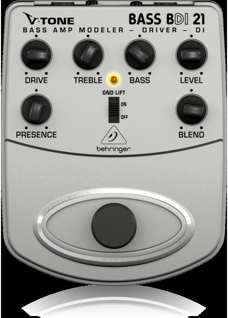 Behringer BDI21 Bass Amp Modeler/Direct Recording Preamp/DI Box