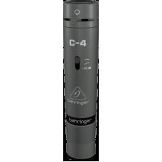 Behringer C-4 Studio Condenser Microphones, Matched Pair