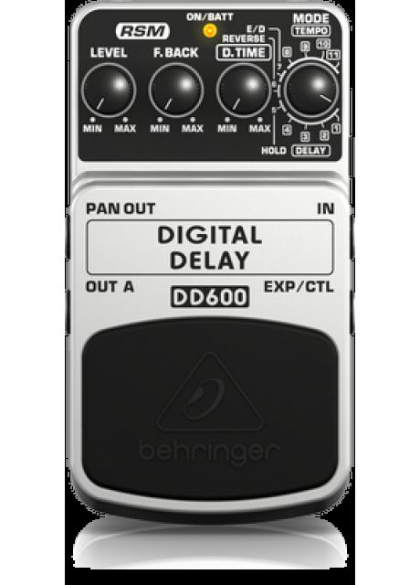 Behringer DD600 Digital Delay Effects Pedal