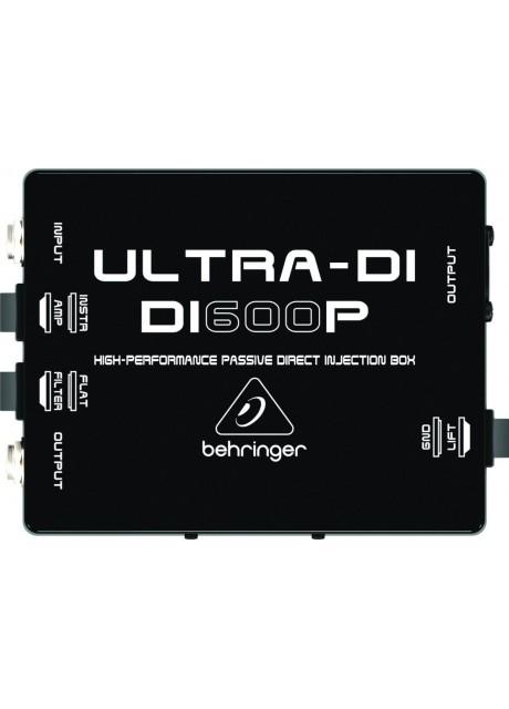 Behringer Ultra-DI DI600P Professional High-Performance Passive DI-Box