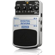 Behringer DR600 DIGITAL REVERB Digital Stereo Reverb Effects Pedal