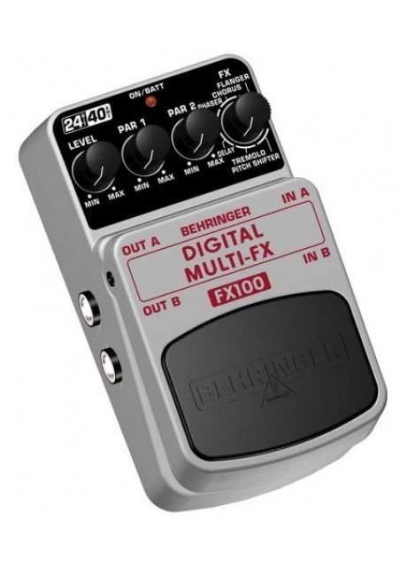 Behringer FX100 Digital Stereo Multi-Effect Pedal