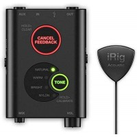 IK Multimedia iRig Acoustic Stage Mobile Microphone with Stage DSP / Interface for Acoustic Guitars
