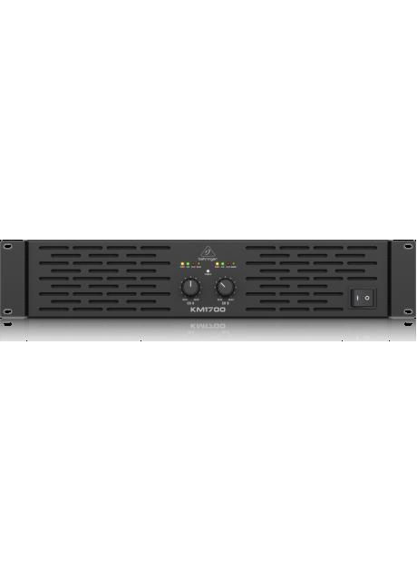BEHRINGER KM1700 Stereo Power Amplifier