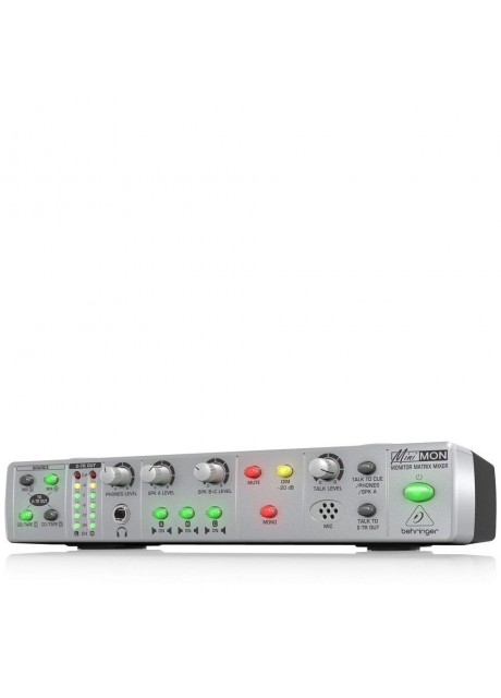Behringer MINI MON MON800 Ultra-Compact Stereo Monitor Matrix Mixer