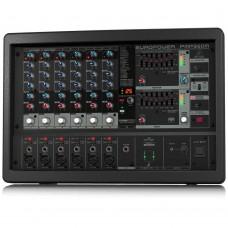 BEHRINGER 6 PMP560M 500-Watt 6-Channel Powered Mixer with Klark
