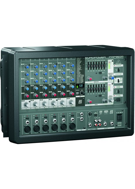 Behringer EUROPOWER PMP960M 900-Watt 6-Channel Powered Mixer