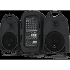BEHRINGER 8 PPA2000BT Ultra-Compact 2000-Watt 8-Channel Portable