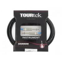 Samson Tourtek Cables TI1 Genuine Neutrik® nickel-plated phone plug 1' Instrument Cable