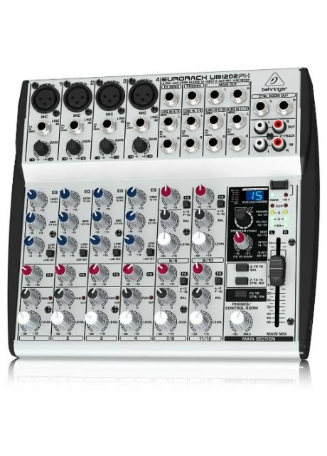 Behringer UB1202FX Eurorack Ultra-Low Noise 12-Input 2-Bus Mic/Line Mixer