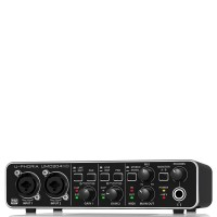 Behringer UMC204HD Audiophile 2x4, 24-Bit/192 kHz USB Audio/MIDI Interface