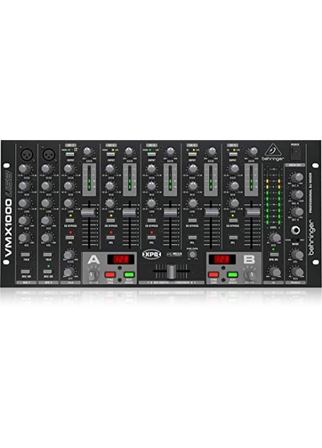 Behringer Pro Mixer VMX1000USB Professional 7-Channel Rack-Mount