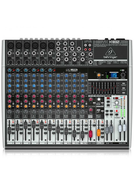 Behringer Xenyx X1832USB Premium 18-Input 3/2-Bus Mixer with USB