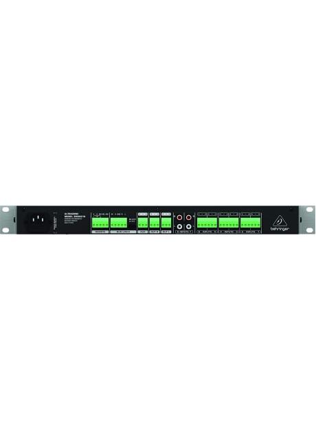 Behringer ZMX8210 Ultrazone 8 Channel 3 Bus Mic/Line Zone Mixer