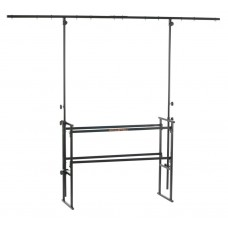 Athletic DJ-4T for a mobile DJ stands