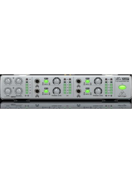 Behringer AMP800 Mini Amp 4 Channel Stereo Headphone Amplifier