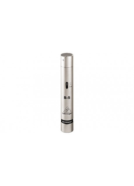 BEHRINGER B-5 Gold-Sputtered Diaphragm Condenser Microphone Silver