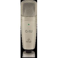 Behringer C-1U Professional Large-Diaphragm Studio Condenser USB Microphone