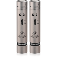 Behringer C-2 Studio Condenser Microphones, Matched Pair